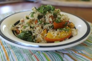 A Quinoa bowl with Moroccan flair.